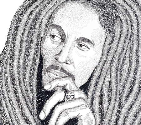 Bob Marley Artwork